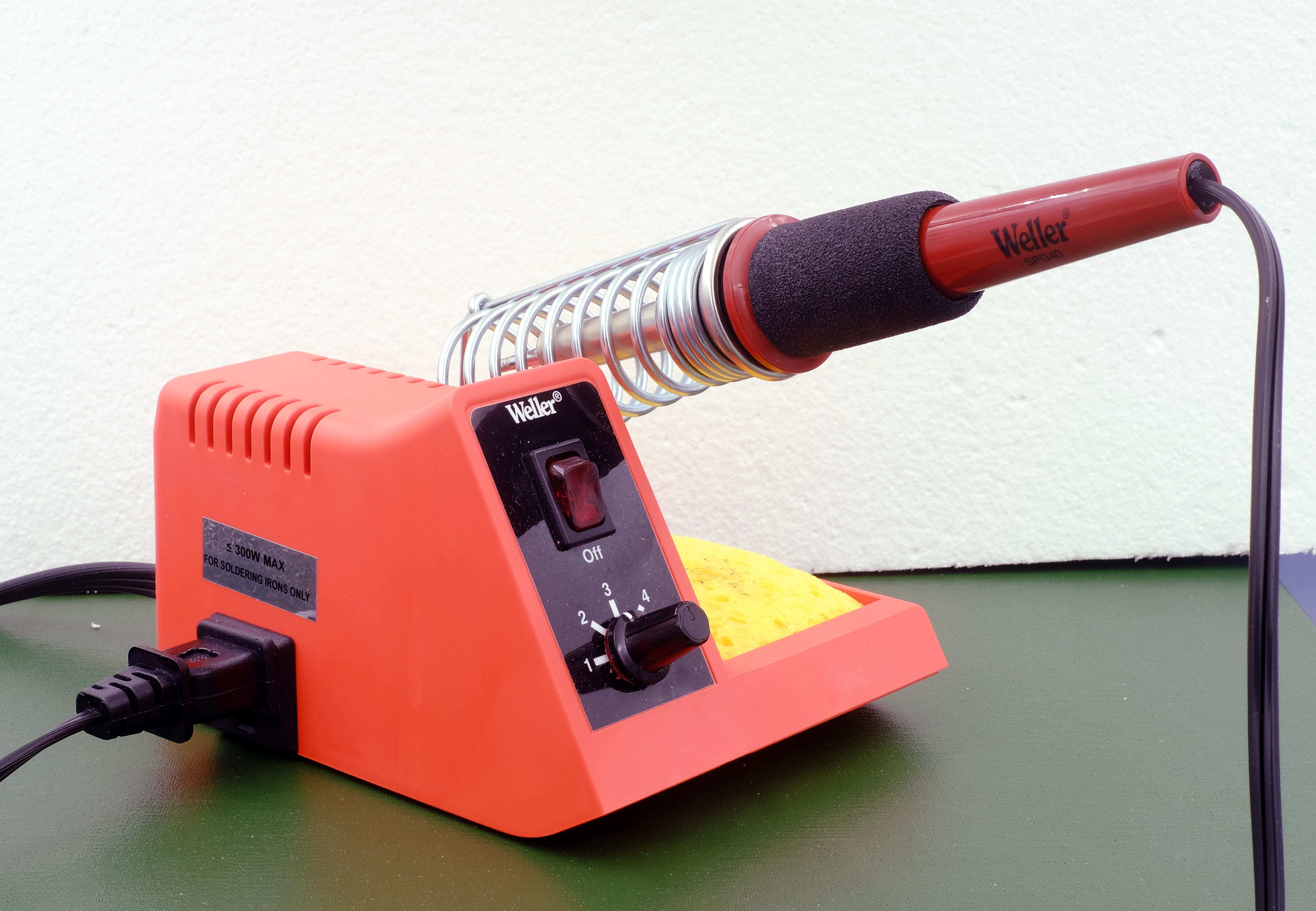 Weller Bp645 Battery Powered Soldering Iron Kit W Solder New Sealed